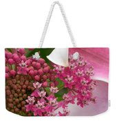 Asclepias And Friend Weekender Tote Bag