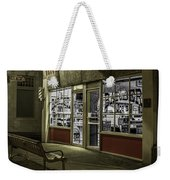 Joe's Barber Shop Weekender Tote Bag
