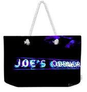 Joe's Corner Weekender Tote Bag