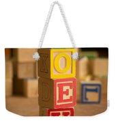 Joey - Alphabet Blocks Weekender Tote Bag