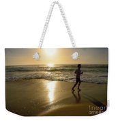 Jogging At Sunrise By Kaye Menner Weekender Tote Bag