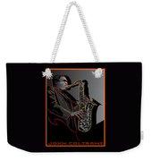 John Coltrane Jazz Saxophone Legend Weekender Tote Bag