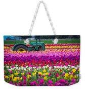 John Deere In Spring Weekender Tote Bag