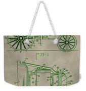 John Deere Patent Weekender Tote Bag