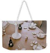 John Dickinson's Dining Table Weekender Tote Bag