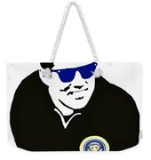 John F Kennedy Signature Wayfarer Weekender Tote Bag by Jost Houk