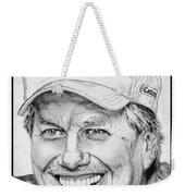 John Force In 2010 Weekender Tote Bag by J McCombie