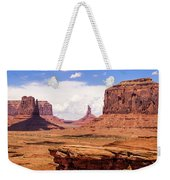 John Ford Point - Monument Valley - Arizona Weekender Tote Bag
