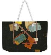 Old Time Card Rack Weekender Tote Bag