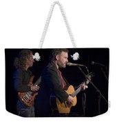 John Gorka And Michael Manring In Concert Weekender Tote Bag