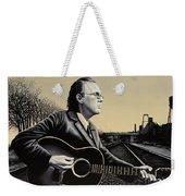 John Hiatt Painting Weekender Tote Bag
