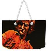 John Lennon Painting Weekender Tote Bag by Paul Meijering