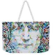 John Lennon Portrait.1 Weekender Tote Bag