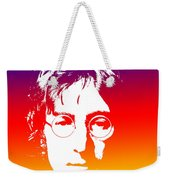 John Lennon The Legend Weekender Tote Bag