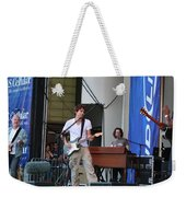 John Mayer And Robbie Mcintosh Taste Of Chicago Weekender Tote Bag