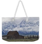 John Moulton Barn Grand Teton National Park Wyoming Weekender Tote Bag