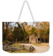 John Oliver Pioneer Cabin Weekender Tote Bag