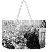 John Peter Zenger (1697-1746) Weekender Tote Bag