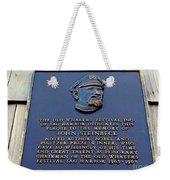 John Steinbeck Weekender Tote Bag