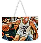 John Stockton Weekender Tote Bag by Florian Rodarte