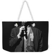 Musician John Tesh Weekender Tote Bag