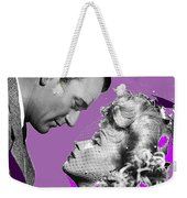 John Wayne And Marlene  Dietrich Publicity Photo The Spoilers 1942 Weekender Tote Bag
