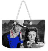 John Wayne Gail Russell Angel And The Badman  Publicity Photo 1947-2012 Weekender Tote Bag