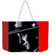 John Wayne Ringo Kid Portrait Stagecoach 1939-2013 Weekender Tote Bag
