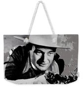 John Wayne Two-fisted Law  1932 Publicity Photo Weekender Tote Bag
