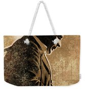 Johnny Cash Artwork Weekender Tote Bag