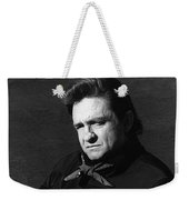 Johnny Cash Close-up The Man Comes Around Music Homage Old Tucson Az  Weekender Tote Bag
