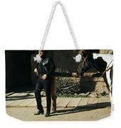 Johnny Cash Horse Old Tucson Arizona 1971 Weekender Tote Bag