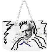 Johnny Cash Man In White Literary Homage Old Tucson Arizona 1971-2008 Weekender Tote Bag