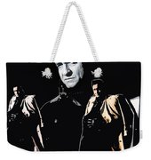 Johnny Cash Multiples  Trench Coat Sitting Collage 1971-2008 Weekender Tote Bag