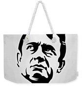 Johnny Cash Poster Art Portrait Weekender Tote Bag