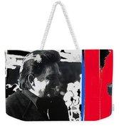 Johnny Cash  Smiling Collage 1971-2008 Weekender Tote Bag