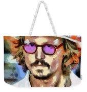 Johnny Depp Actor Weekender Tote Bag