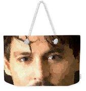 Johnny Depp Portrait Weekender Tote Bag
