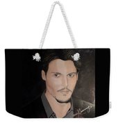 Johnny Depp - The Actor Weekender Tote Bag