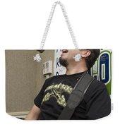 Johnny Hickman Of Cracker Weekender Tote Bag