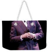 Johnny Mathis Weekender Tote Bag