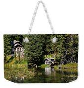 Johnny Sack Cabin Weekender Tote Bag