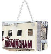 John's City Diner Weekender Tote Bag