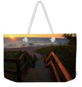 Join Us For The Sundown Weekender Tote Bag