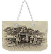 Jolly Holiday Cafe Main Street Disneyland Heirloom Weekender Tote Bag