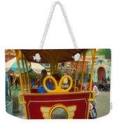 Jolly Trolley Disneyland Toon Town Weekender Tote Bag