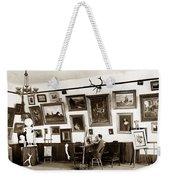 Joseph Kurtz Oliver Artist In His Studio Monterey Circa 1905 Weekender Tote Bag