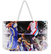 Josh Smith Of The Detroit Pistons Weekender Tote Bag