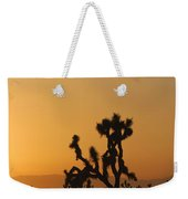 Joshua Tree At Sunset Weekender Tote Bag