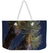 Joshua Tree By Moonlight Weekender Tote Bag